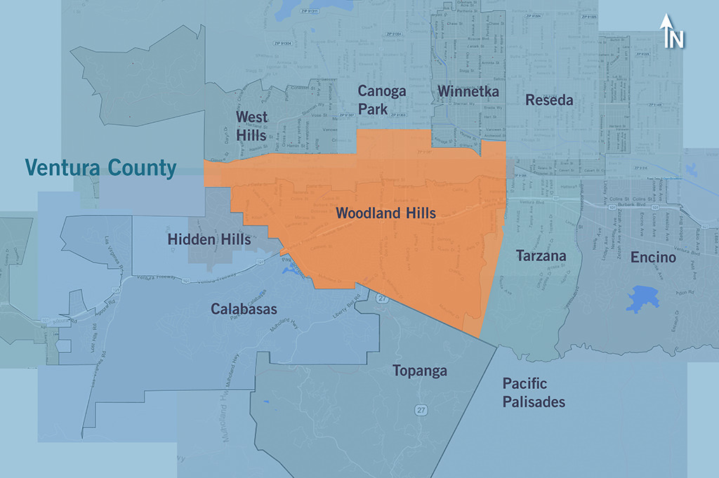 Districts In Woodland Hills